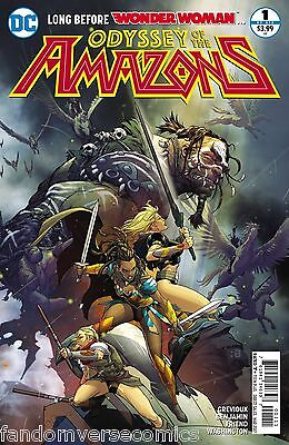 Odyssey Of The Amazons #1 (Of 6) (2017) Dc (1/25/17)