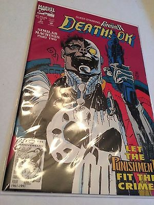Marvel Comics Deathlok 1992 #7 VF Condition