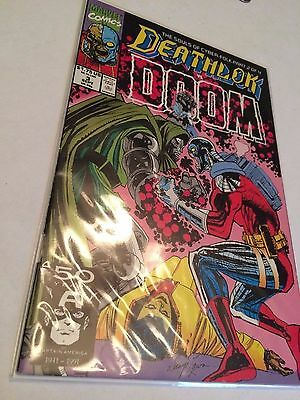Marvel Comics Deathlok 1991 #3 VF Condition