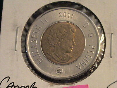 2011 Canadian Uncirculated 2 dollar coin, toonie    L124 F475