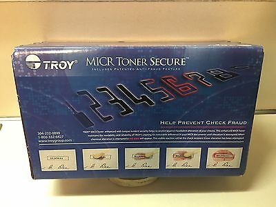 Troy 281550001, CF-280A, MICR Toner Secure, 2700 Page-Yield, Black