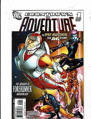 Lot of 4 Countdown to Adventure DC Comic Books #1 2 3 5 MS18