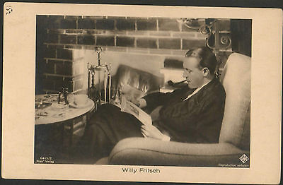 WILLY FRITSCH 1920s RARE VINTAGE POSTCARD PHOTO ROSS 6415/2