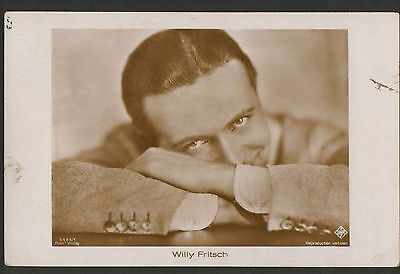 WILLY FRITSCH 1920s RARE VINTAGE POSTCARD PHOTO ROSS 5505/1