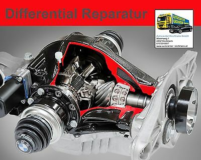 BMW Differential Reparatur 3,64 7519925 7519926 E81 116i 1.6 N43 / E87 116i N45
