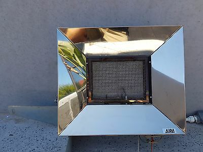 Aira ( Rinnai ) Super Ray  Indoor /  Outdoor Natural Gas Heater Good Condition