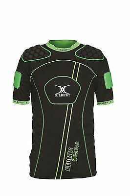 New Ex Display Gilbert Rugby Atomic Zenon 8 Body Armour Large