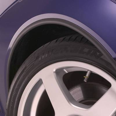 BLACK Wheel Arch Arches Guard Protector for SMART
