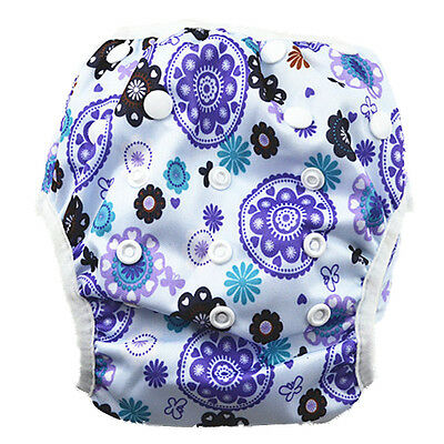 Reusable Swim Nappy Baby Toddlers Diapers Pants Nappies Swimmers Swimming Pant
