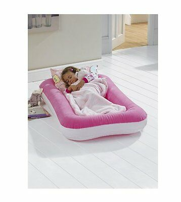 Children's 2 in 1 airbed in pink