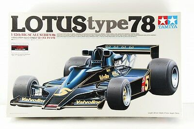 TAMIYA 1/12 LOTUS type78 BIG SCALE SERIES ETCHED PARTS INCLUDED VERY RARE!!