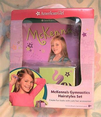 American Girl Mckenna's Gymastics Hairstyles Kit for Dolls with  2 Books