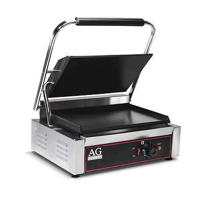 Commercial Single Contact Grill / Sandwitch Press Toaster 10 Amp Plug
