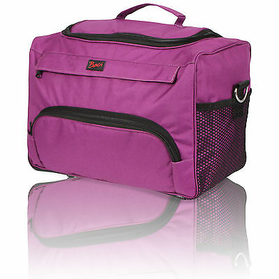 Hairdressing Beautician Mobile Bag Hair Tool Case/carry Strap Pink/purple Gift