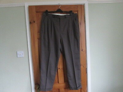 New northern soul / 50s twin pleated turn up trousers W 38 X L 29