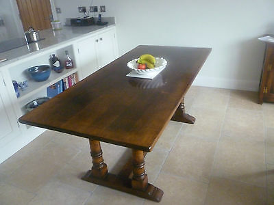 Titchmarsh and goodwin english oak refectory table