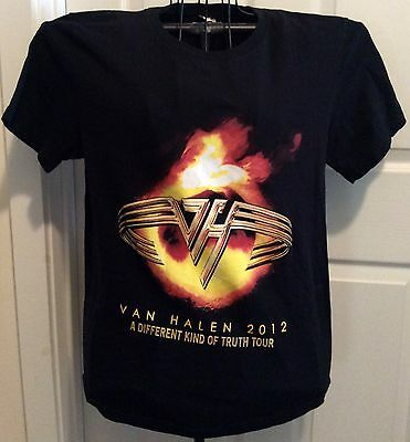 Van Halen A Different Kind Of Truth Tour 2012 t-shirt