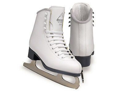 Jackson Glacier GS350 snr Figure Skates box 7 COMPLETE WITH BLADES Free Postage