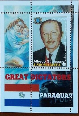 2016 the great dictators of the world Paraguay Alfred Stroessner
