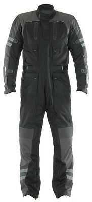 SPADA MOTORCYCLE  ALL IN ONE SYSTEM SUIT 1 PIECE BLACK/GREY  New