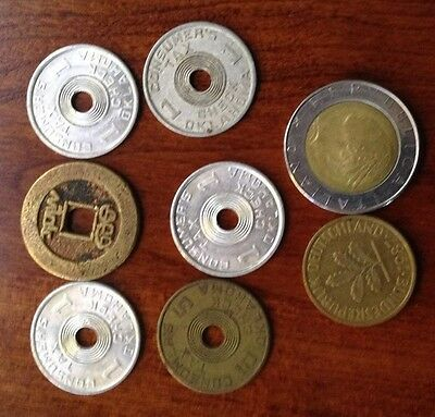 Oklahoma tax tokens and some coins