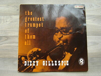 jazz LP bop DIZZY GILLESPIE The Greatest Trumpeter Of Them All 1966 UK STEREO