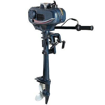 3.5 hp Tiller Outboard boat motor 2 Stroke New Yacht outboard motor Engines