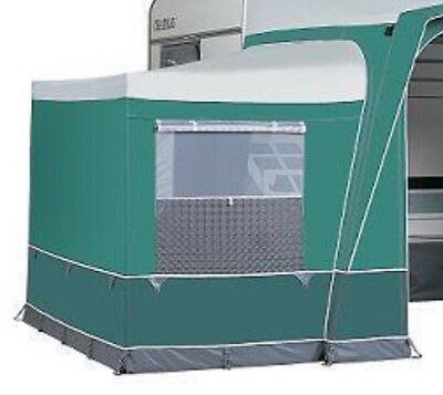 Dorema Awnings Tall Annexe in Green/Grey, YKK zip, fits several models