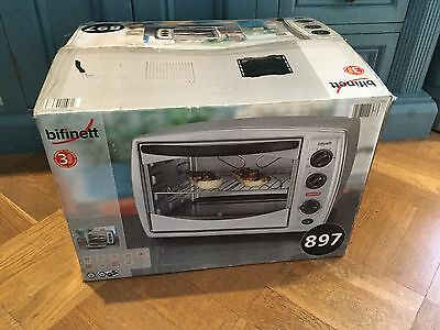 Brand New Electric Oven &Grill Table Top By Biffnett