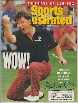 Ian Woosnam AUTOGRAPH 1991 SPORTS ILLUSTRATED SIGNED