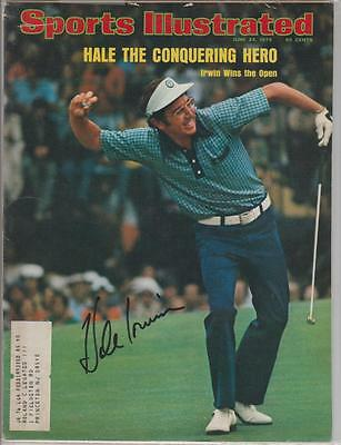 Hale Irwin AUTOGRAPH 1974 SPORTS ILLUSTRATED SIGNED