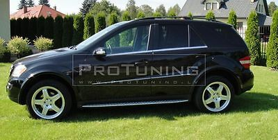 Mercedes ML W164 05-11 set of arches  AMG Style for AMG bumpers Benz M class