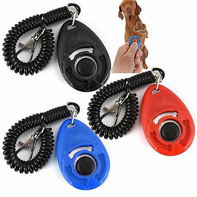 Dog Pet Training Clicker/trainer Teaching Tool/dogs/puppy