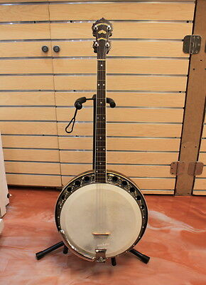 Vintage Paramount Style 1 Tenor Banjo 1928 Wm. L. Lange Co With Original Case