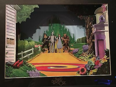Wizard of Oz Animated Animations 3D Cell Artwork with COA- RARE