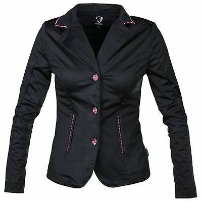 Horka Ladies Passage SoftShell Strech Crystal Horse Riding Competition Jacket