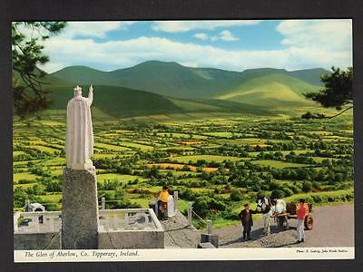 """THE GLEN OF ABERLOW""  Postcard Ireland Tipperary"
