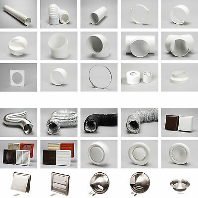 """6"""" 150mm Universal Round Cooker Hood Extraction Vent Duct Pipe Fan In Stock"""