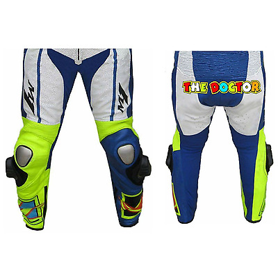 YAMAHA-ROSSI-Motorbike/Motorcycle Leather Pant Racing Leather Trouser-ENEOS(Rep)