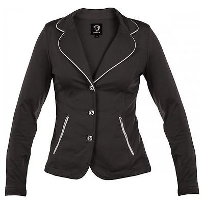 Horka Ladies Lightweight SoftShell Strech Strass Horse Riding Competition Jacket
