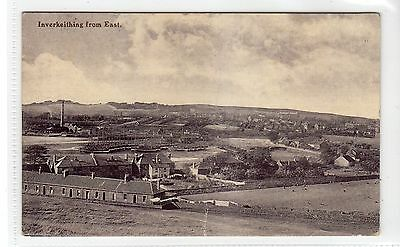 INVERKEITHING FROM EAST: Fife postcard (C10437)