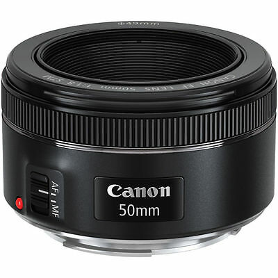 NEW Canon EF 50mm f/1.8 STM EF Lens - UK NEXT DAY DELIVERY