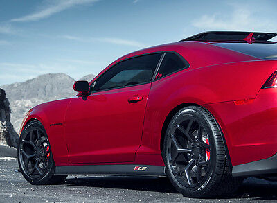 20 Staggered Wheels Tires Chevy Camaro SS Black Z28 Rims RS SS 20x10 20x11 MRR