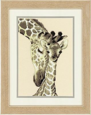 Vervaco - Counted Cross Stitch Kit - Giraffe Family - 200275.444