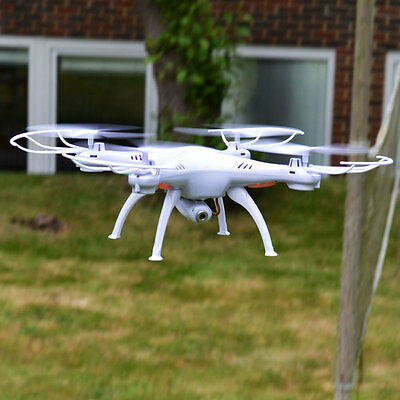 Mtech RC Sky Drone Plus 2MP Camera White Or Black Six Axis Omni-Directional