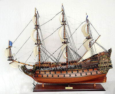 """Soleil Royal Model Tall Ship 37"""" - Handcrafted Wooden Model Ship NEW"""