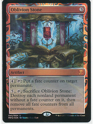 MTG Masterpiece Series - Aether Revolt Inventions - Oblivion Stone NM