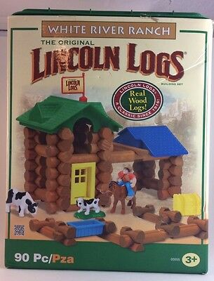 Lincoln Logs White River Ranch Building Set