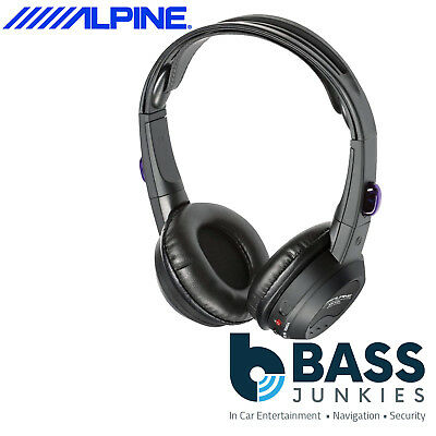 Alpine SHS-N106 Single Channel Infra Red Fold Flat Wireless Headphones
