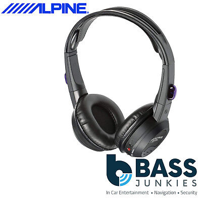 Alpine SHS-N107 1 x Single Channel Infra Red Fold Flat Wireless Stereo Headphone